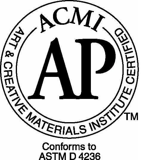 自1940年以来acmi无毒了对品牌美术用品的认证儿童,认证项目是发起的优秀产品情趣用品图片